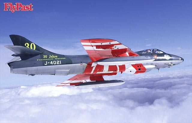 Hawker Hunter, Switzerland