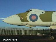 Vulcan XL 319, nose